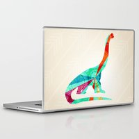 dinosaur Laptop & iPad Skins featuring dinosaur by Emmy Winstead