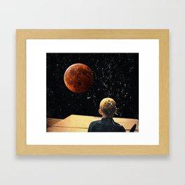 Game, Mars. Framed Art Print