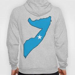 Somalia Map with Somali Flag Hoody