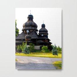 Ukrainian Church Metal Print