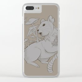 Fungi mouse Clear iPhone Case