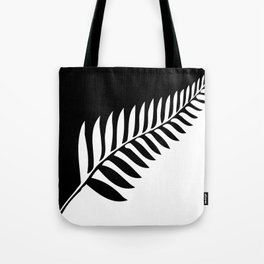 Silver Fern of New Zealand Tote Bag