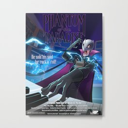 Phantom of the Paradise Poster Metal Print
