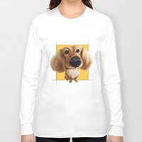 dachshund Long Sleeve T-shirts featuring dachshund by joearc