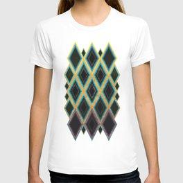 Diamond pattern T-shirt