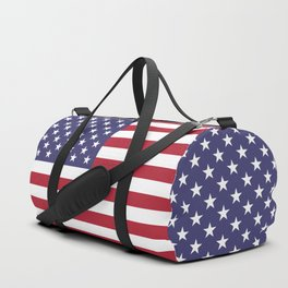 USA flag - Hi Def Authentic color & scale image Duffle Bag