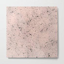 baby pink eggshell Metal Print