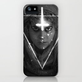 Lesbian Crucifix iPhone Case