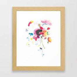 Abstract Bouquet Framed Art Print