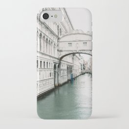 Italy | Venice | Canals |Travel photography | Architecture of Venice | Pastel colored buildings and the canals iPhone Case