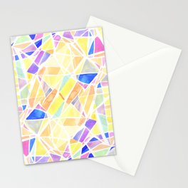 Pastello Yellow Stationery Cards