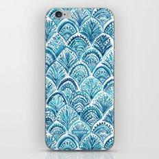 NAVY LIKE A MERMAID iPhone & iPod Skin