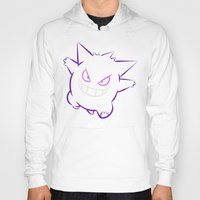 gengar Hoodies featuring Gengar by Proxish Designs