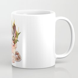 Cat Plant  Coffee Mug