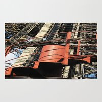 eiffel Area & Throw Rugs featuring Eiffel by Mario Sa