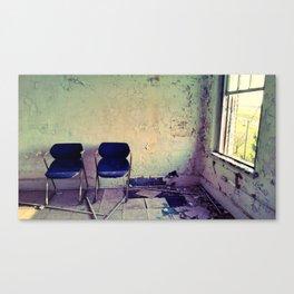 Waiting (Vacancy Zine) Canvas Print