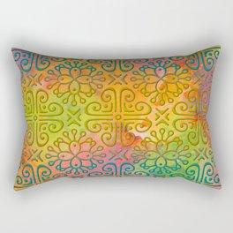 DP050-6 Colorful Moroccan pattern Rectangular Pillow