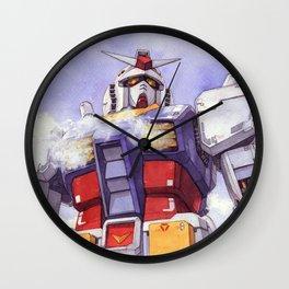 Rx-78-2 watercolor Wall Clock