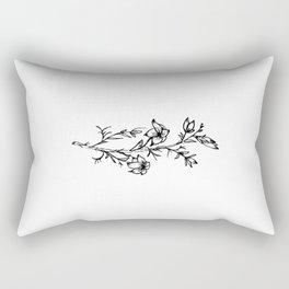 Carolina Jessamine Wildflower Rectangular Pillow