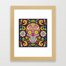 Sugar Skull Art (Spark) Framed Art Print