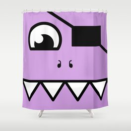 Monsters⁴ : Purple Shower Curtain