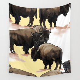 Roaming the Plains Wall Tapestry
