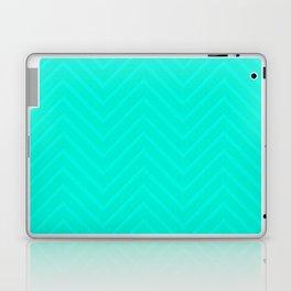 Mint Chevron Laptop & iPad Skin
