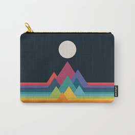 Whimsical Mountains Carry-All Pouch