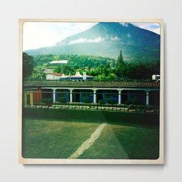 Guatemalan Volcano Metal Print