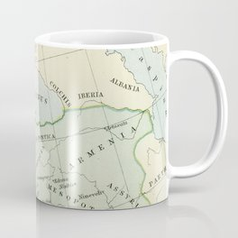 Old Map of The Roman Empire Coffee Mug