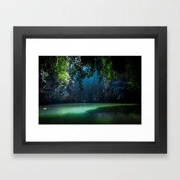 Lagoon Framed Art Print