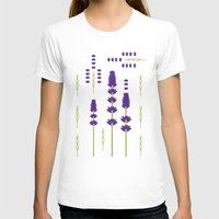 lavender T-shirts featuring Lavender by Alysha Dawn