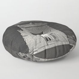 An adventure into the past I.  Floor Pillow