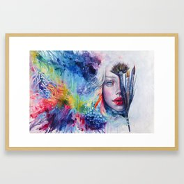Coralized Framed Art Print