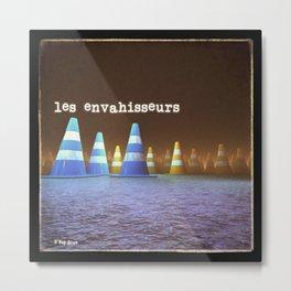 Gang de Cônes - Les Envahisseurs Metal Print