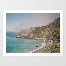 Pacific Coast Highway 1.3 Art Print