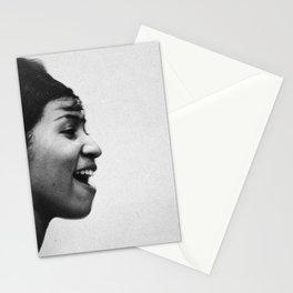 Aretha Franklin - Black Culture - Black History Stationery Cards