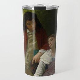 """Elizabeth Jane Gardner Bouguereau """"Before the Engagement"""" Travel Mug"""