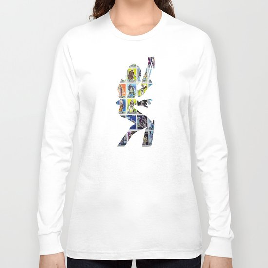 Cut StarWars Collage 2 Long Sleeve T-shirt