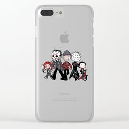 Horror BFFs Clear iPhone Case