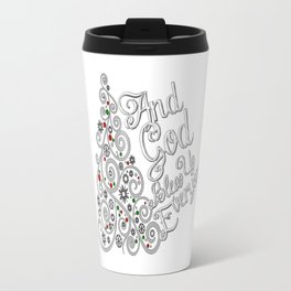 Gog Bless Everyone Travel Mug