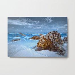 Desert Beach Metal Print
