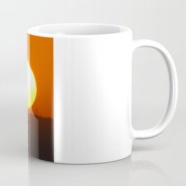 .away from the sun. Coffee Mug
