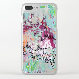 Love & Understanding Clear iPhone Case