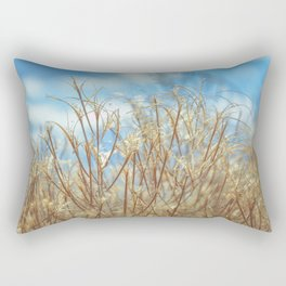 Grassy Nature Sunny Day Rectangular Pillow