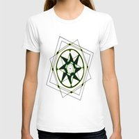 compass T-shirts featuring Compass by Isa Gutierrez