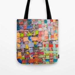 Paint Quilt Tote Bag
