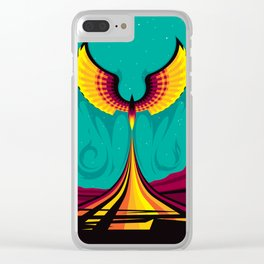 Phoenix Hope Clear iPhone Case