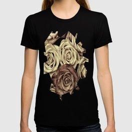 Brown Roses T-shirt