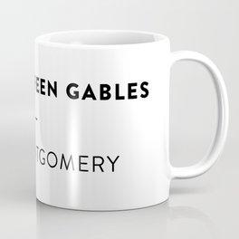 Anne of Green Gables  —  L.M. Montgomery Coffee Mug